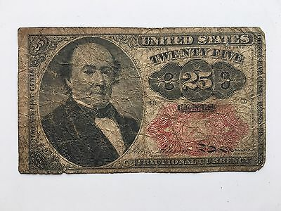 United States Fractional Currency 25 Cent Note, 1874