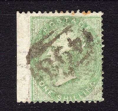 SG72  1/- Green   Wmk: Emblems  -  Good to Fine Used - Cat £350