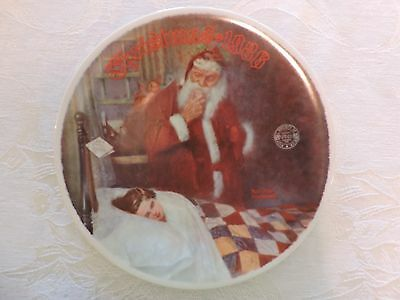 Norman rockwell  Christmas plate