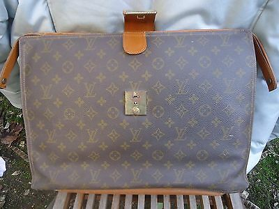 sac sacoche malette louis vuitton ancienne vintage (hermes) bagage luxe