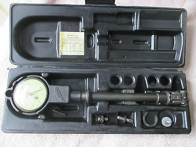 "Sunnen GR-9000 Dial Bore Gage With Case.  1.18"" to 2.00"""