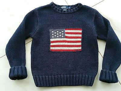 Boys Ralph Lauren  USA Flag  Jumper  size 5years