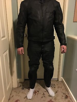 Dainese 2 Piece Leather Motorcycle Suit. Good Clean Condition.