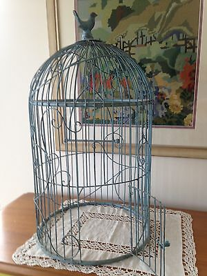 Shabby Chic Garden BIRD CAGE Decorative Antique Style