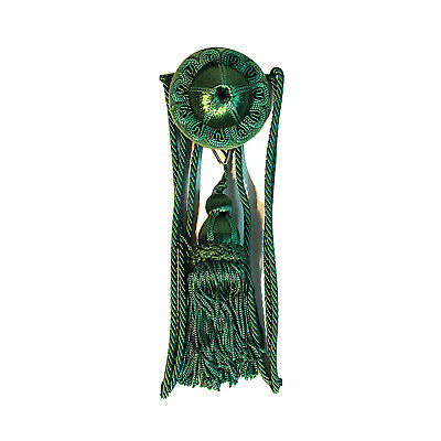 Green Victorian Picture Hanging Wall Hook Antique Style Rail Painting Art Hanger