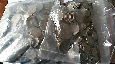 359.4 US Dollars in coins (quarters, dimes and halves only) (B)