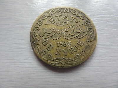 Syrian 5 Piastre 1933 Middle East