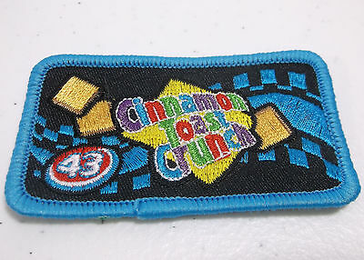 RARE #43 Richard Petty Cinnamon Toast Crunch Cereal Advertising Sew On Patch