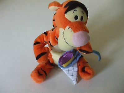 "Disney Tigger 8"" Star Bean By Fisher Price,, Catching Butterflies"