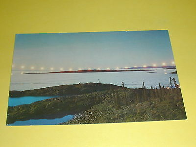 The Land of The Midnight Sun Postcard Northern Canada