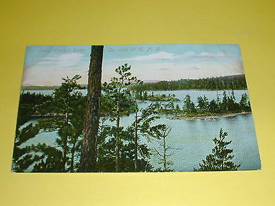 Lady Evelyn Lake On Line of C.P.R. Postcard Canada