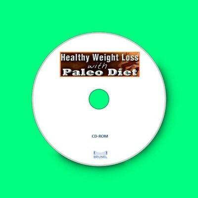 Lose Weight the healthy way.  PALEO Diet + Recipes & EZ Workout Guide on CD-Rom