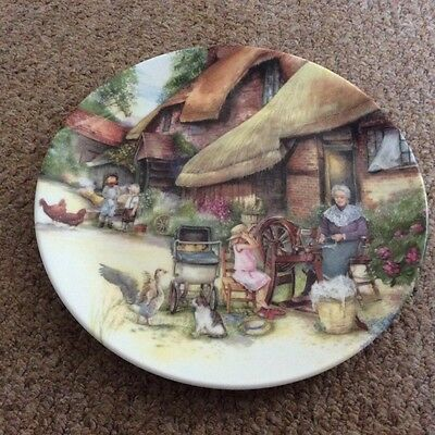Royal Doulton Collectable Plate The Spinner