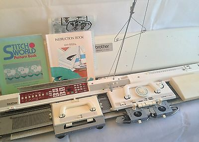 Brother electronic knitting machine package KH 950i + KR 850 ribber + KRC 900