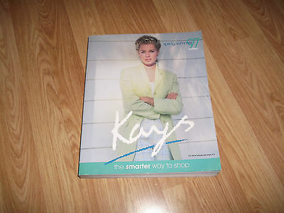 Kays  S / S  1997 Mail Order Catalogue Original Book Featuring Zoe Ball