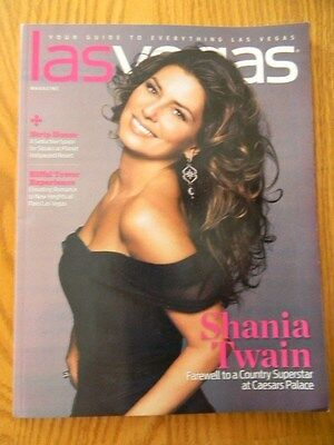Shania Twain- on cover of Las Vegas Magazine-12/2014- when Shania was in Vegas !