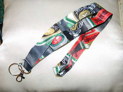Jagermeister lanyard- logo on both sides- nice colors