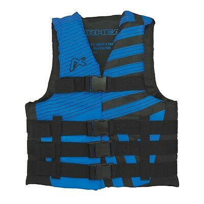 Airhead Trend Mens Closed Side Life Vest Blue LG/XL