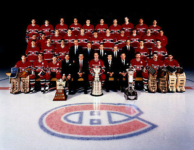 Montreal Canadiens 1986 Stanley Cup Champions Unsigned 8x10 Photo