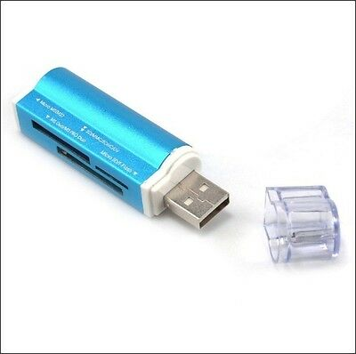 Mini all in one usb micro sd sdhc TF M2 Ms Duo memory card reader laptop