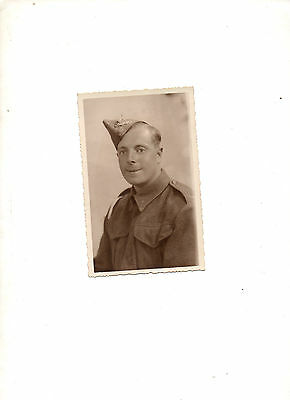 WW2. 1940. Royal Field Artillery Real Photographic BW Postcard. Leone, Croydon