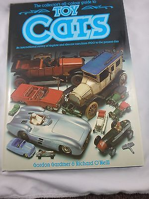 1985 Collector's All-Colour Guide To Toy Cars - Gardiner & O'neill - Hc 128 Page