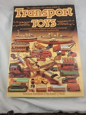 1985 Collector's All-Colour Guide To Transport Toys - Gardiner & O'neill - Hc