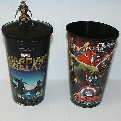 Guardians Of The Galaxy Jumbo Cup Rocket Racoon Topper Avengers Iron Man Marvel