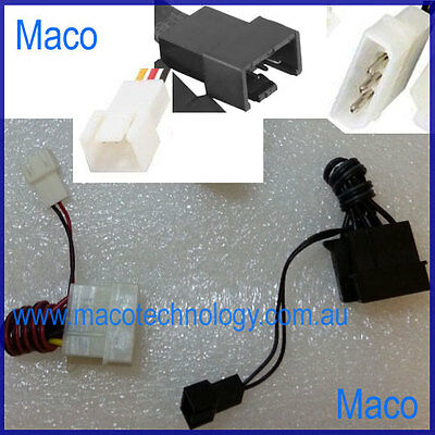 2 Packs Two 4 Pin Molex Cable to 2/3 Pin Male Case Fan Power Cable