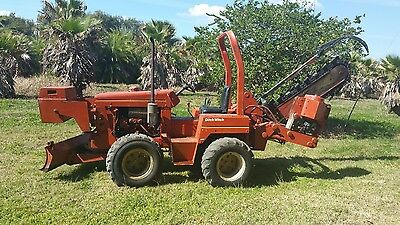 Ditch Witch 4500 Trencher + Plow Combo