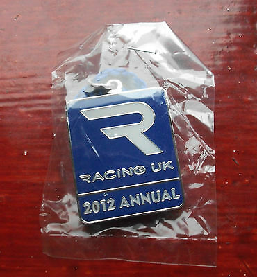 Brand New In Packet Racing Uk Annual Badge 2012