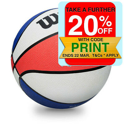 Wilson Zone Buster Basketball - Official Size - 7/ Outdoor/Indoor Sport Ball