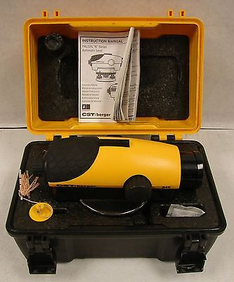 CST/Berger Automatic Auto Sight Level 24x Magnification with Case