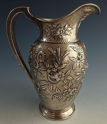 Repousse by Kirk Sterling Silver Water Pitcher #184F (#1436)