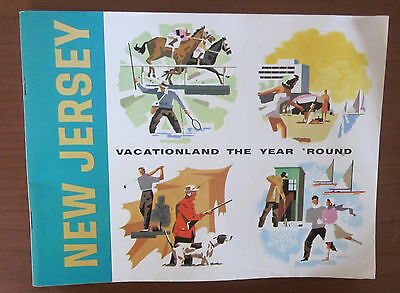 1964 New Jersey 59-page Tourist Booklet