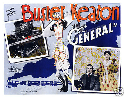 The General Lobby Card Poster Hs 1926 Buster Keaton Marion Mack