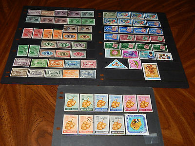 Maldive Islands stamps - BIG lot of 74 mint hinged & used early stamps - super !