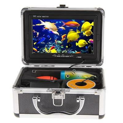 1000TVL Professional Fish Finder Underwater 30m Fishing Video Camera Monitor