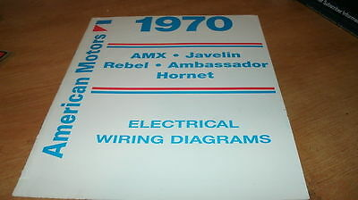 1970 amc ambassador hornet wiring diagrams manual