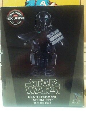 Star Wars LIMITED EDITION Death Trooper Specialist Bust Gentle Giant