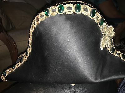 Phantom  Of The Opera Broadway Stage Used Costume Prop Hat Playbill