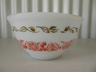 """Vintage PYREX Agee FRUIT SALAD Mixing Bowl 7"""" - Made in Australia"""