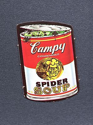 1967 Topps Wacky Packages Die-Cuts #5A Campy Spider Soup No Frame VNG 130
