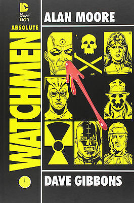 Absolute WATCHMEN Moore Gibbons DC Lion