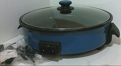 NEW Dash 14'' Extra Large Electric Nonstick Rapid Skillet Blue