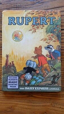 Rupert Annual 1968 - Lovely Book, Solid Spine - Most Magic Paintings Not Done
