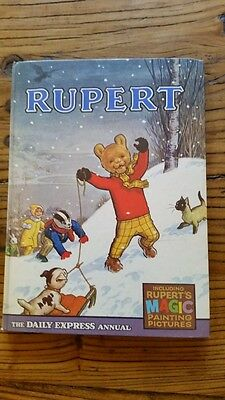 Rupert Annual 1967 - Lovely Book, Solid Spine - Some Magic Paintings Done