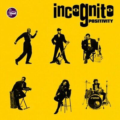 Incognito - Positivity - Incognito CD TJVG The Cheap Fast Free Post The Cheap