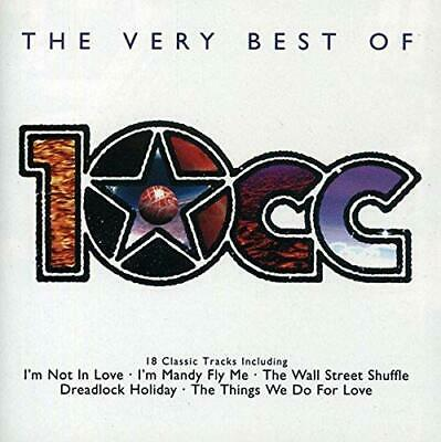 10cc - The Very Best of 10CC - 10cc CD 8JVG The Cheap Fast Free Post The Cheap