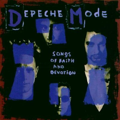 Depeche Mode - Songs of Faith and Devotion - Depeche Mode CD UDVG The Cheap Fast
